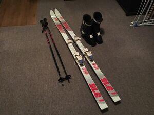 Men's Ski Set: Elan Skis, Gipron Ski Poles, Nordica Ski Boots