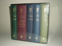 J.R.R. Tolkien 5-volume Deluxe Collection. Harper Collins box set from 2012, limited to 100 sets.