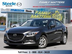 2018 Mazda MAZDA3 GS  (Unlimited KM Warranty)