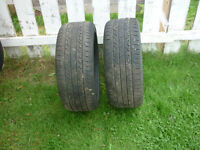 2 - 17IN. KUMHO SOLUS KH25 M+S TIRES 225/45R17 - 91H