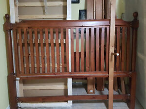 King Size Bed Frame & King Size Box Spring