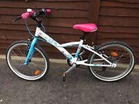 "Girls 20"" geared bike"