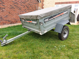 Erde 122 Tipping Trailer With Load Cover