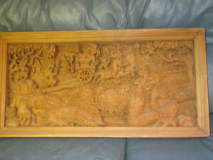 74 cm Original Carved Wood Garuda from Bali