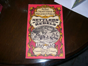 Book Royal North-West Mounted Police Settlers & Rebels 1882-1885