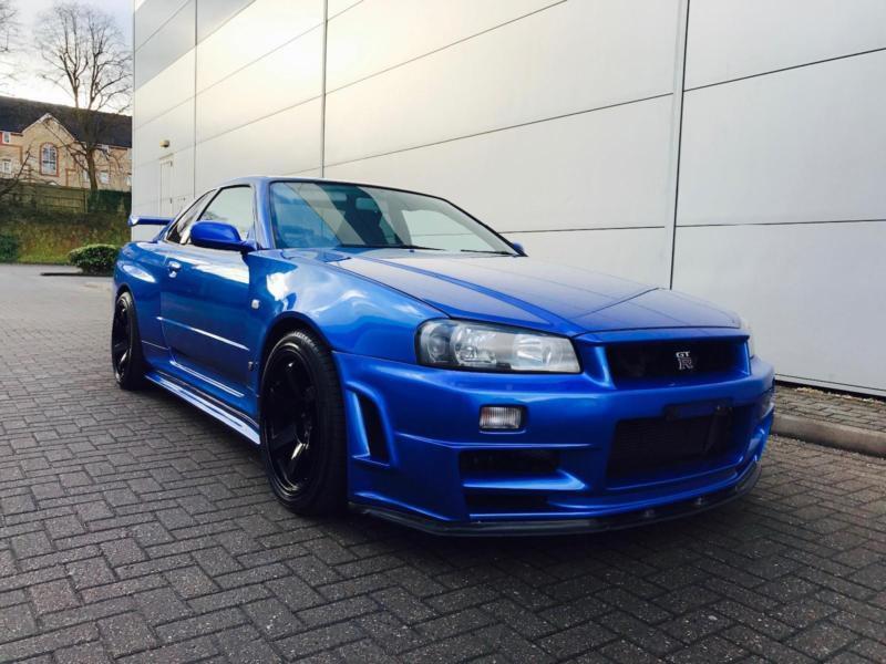 2001 Nissan Skyline R34 2 6 Gt R V Spec Nismo Ztune Bodykit In