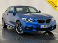 2018 BMW 2 Series 1.5 218i M Sport (s/s) 2dr Coupe Petrol Manual