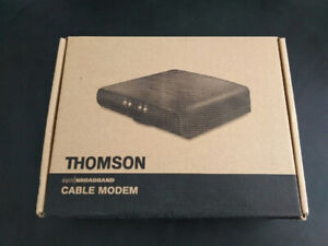 Thomson DCM476 cable modem in mint condition for $20