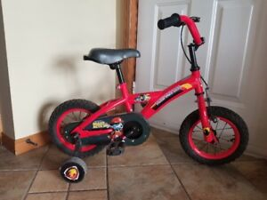 Paw Patrol Marshall Bike with training wheels