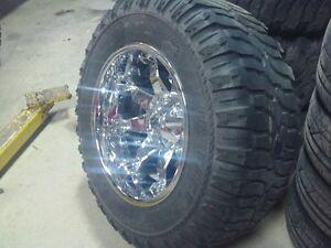 Super Swamper M18 & Fuel Rims