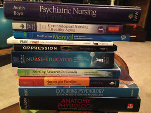 Nursing textbooks year 1-3
