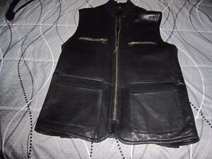 Danier Leather Vest - Small (generous small) - like new