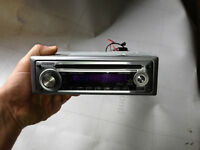 Kenwood KDC- MP232 Sirius-Ready MP3 Compatible CD player - $60