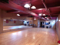 MONTREAL RECEPTIONS, DANCE STUDIOS, EVENTS, GALLERIES