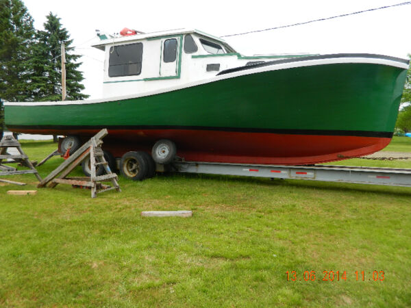 Used 1995 Other Wooden Lobster Fishing Pleasure Boat