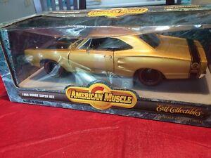 Dodge Super Bee 1969 bronze neuf diecast 1/18 die cast Ertl