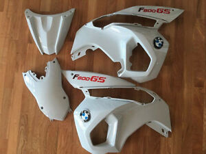 Barely used- F800GS fairing kit - White -OEM