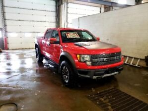 """2012 FORD F150 """"RACE RED"""" RAPTOR - FOR SALE"""