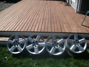 4 Toyota aluminum wheels 16x7 with 5x114.3 $100 o.b.o
