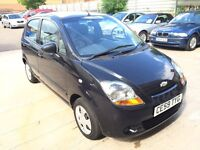 CHEVROLET MATIZ, 0.8 PETROL VERY LOW MILEAGE TAX £30 £1500