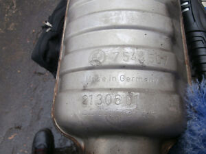2006 BMW 330i E90 Used Middle Exhaust Muffler Resonator Pipe  T