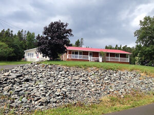 2 homes on adjoining property with water view