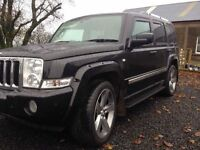 2006 Jeep Commander 3.0crd Limited Edition 7 seater 4x4 / May Part Exchange