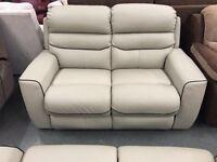 Brand new LA-Z-Boy 2+2 seater leather sofas
