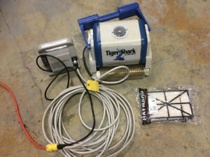 Used robotic pool cleaner, Tiger Shark