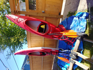 Pelican Kayaks almost New