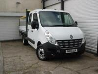 2012 12 Renault Master 2.3dCi ML35 DRW MWB RWD *Tail Lift *Drop Side *Double Cab