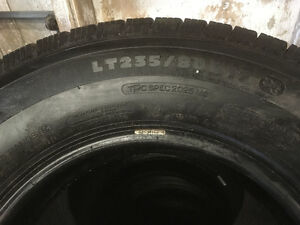 MICHELIN - LT M/S  GMC Dually 235 80 17 E rated