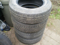 4   P205/65/15 all season tires for sale