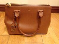 Lauren Ralph Lauren Newberry handbag in Tan