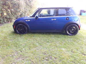 2004 supercharged mini Cooper 6speed