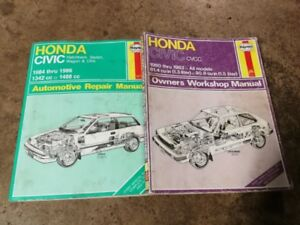 87 Honda Civic - parts and accessories