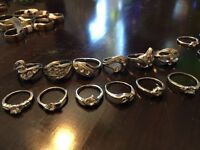 Rings for sale at 5$ per ring