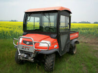 2006 RTV 900 Diesel 4x4 With Fully Enclosed Cab