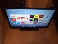 "Toshiba 32"" Smart LED Tv wi-fi BBC iplayer Netflix YouTube warranty free delivery"