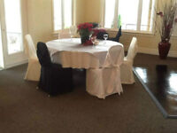 WEDDING DECORATIONS, SUPPLIES, CHAIR COVERS, DECOR