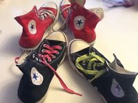 Black or red converse men's size 7   $20.each