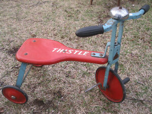 Antique Thistle Tricycle... All Metal