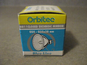 Closed Dichroic Mirror Lamp (Orbitec/MR11)-New?Unused + more