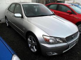 2002 02 Lexus IS 200 2.0 auto SE 4DR SOLD FOR SPARES OR REPAIRS PX TO CLEAR