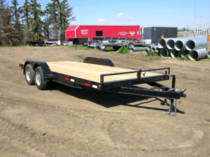 2016 Oasis Carhauler 16 foot Flatdeck trailer like new