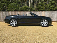 Bentley GTC Continental 6.0 auto GTC W12 engine, Black with Black leather