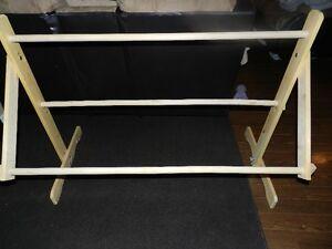 Latch Hook Wooden Floor Stand