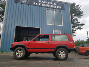 98 jeep xj for sled