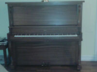 30 + year old Haines FULL SIZE PIANO