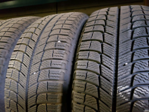 For sale set of michelin snow tires 205/55/16 x-ice3